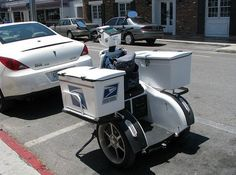 I would love to have one of these on red plum Tuesday! You've Got Mail, United States Postal Service, Mail Boxes, Red Plum, Going Postal, Mail Delivery, Odd Stuff, Snail Mail, Post Office