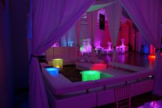 Party Interiors & My Glow Party