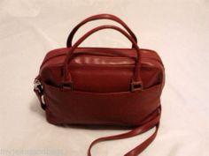 Charter Club Maroon Satchel Shoulder Bag Purse | eBay