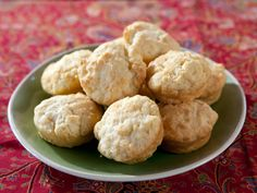 Easiest Muffins Recipe - Trisha Yearwood. Super easy, 3-ingredient drop biscuits! Great reviews too, with suggestions on what to add to make them sweet (3 TBS honey), spicy (jalapeno), cheesy, garlic -- so many fun and delicious ideas!
