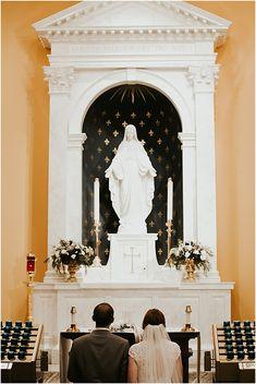 Hail Mary, full of grace Wedding Bells, Wedding Ceremony, Our Wedding, Dream Wedding, Catholic Marriage, Catholic Wedding, Church Wedding Photography, Wedding Photos, Missionaries Of Charity