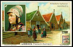-S844- Dutch Headdress. Liebig, Germany, 1906. - Marken