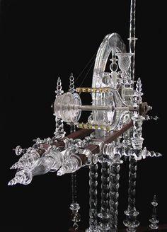 Glass Spinning Wheels