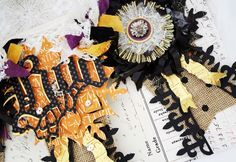 The Sizzix Challenge Halloween | Boo Banner by Melissa Phillips