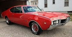 1968 Oldsmobile Cutless... I just peed my pants!