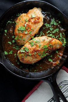 Chicken with Honey Beer Sauce.
