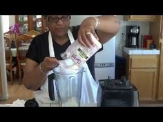 Coconut Milk From Dried Coconut - YouTube