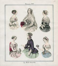 La Belle Assemblee February 1848 LAPL