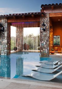 What a pool space!