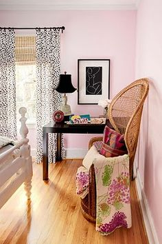 Guest Room - also love this idea for a girls bedroom