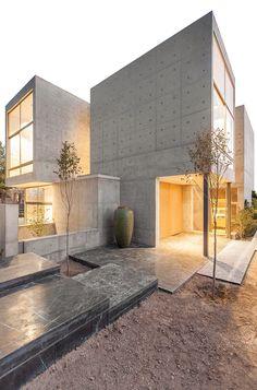 Concrete Villa 131 By Bracket Design Studio  ~ Great pin! For Oahu architectural design visit http://ownerbuiltdesign.com