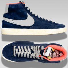 Nike Blazer Mid PRM VNTG Low High | eBay