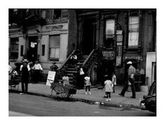 Sid Grossman  Harlem Scene  133rd Street between Fifth and Lenox Avenues, 1930's