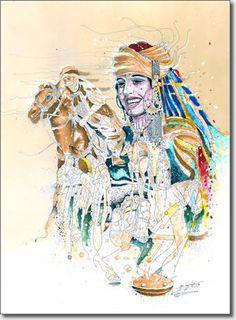 Femme amazighe...