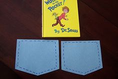Dr. Seuss activity to go along with the book, There's a Wocket in my Pocket