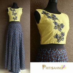 Get ready for Navratri in this contemporary butterfly crop top and silk clamp dyed lehengaFor more information DM or write to info@pritisahni.com PritiSahni garba navratri contemporary festive instaglam instalove indiansinusa desi croptop couture olive tiedye 09 September 2016