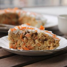 1 REFLEJO EN EL ESPEJO + #VIVESANO +: Tarta de zanahoria (carrot cake)