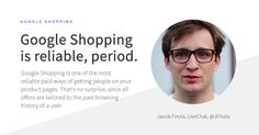 Want to get people on your product pages? Use Google Shopping. For more tips on Google Shopping and ecommerce, check out the BigCommerce blog!