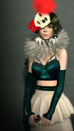"""Mera Naam Joker""-Miaa Rebane, sl fashion"