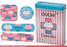 Tiritas cupcake