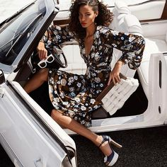 The gorgeous @JoanSmalls is the embodiment of jet-set glamour in @michaelkors' new Spring 2017 campaign! #HarpersBazaarSG #MichaelKors  via HARPER'S BAZAAR SINGAPORE MAGAZINE OFFICIAL INSTAGRAM - Fashion Campaigns  Haute Couture  Advertising  Editorial Photography  Magazine Cover Designs  Supermodels  Runway Models