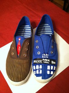 Fierce and Fun Fandom Shoes! Love these! I know Pattie Whitehead would want a pair!