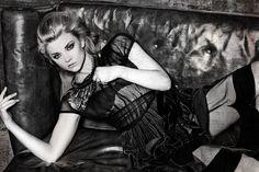 Natalie Dormer wears Alberta Ferretti and Vickisarge