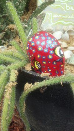 Mermaid garden cactus octopus