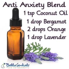 Anti Anxiety Essential Oil Blend Verwenden Sie in Ihrem BellaSentials Diffusor www. Essential Oil Diffuser Blends, Doterra Essential Oils, Bergamot Essential Oil Uses, Just In Case, Just For You, Coconut Oil Uses, Ideias Diy, Aromatherapy Oils, Natural Remedies