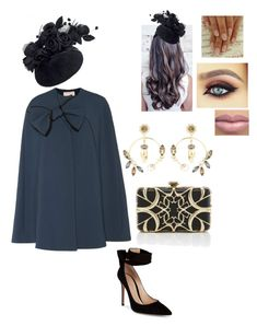 """""""Untitled #470"""" by lovelifesdreams on Polyvore featuring Roksanda, Gianvito Rossi, Elie Saab and Erdem"""