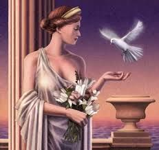 Aphrodite is the Greek goddess of love, beauty, pleasure, and procreation. Her Roman equivalent is the goddess Venus. Greek Goddess Art, Aphrodite Goddess, Greek Gods And Goddesses, Greek And Roman Mythology, Goddess Of Love, Aphrodite Tattoo, Goddess Tattoo, Greek Olympians, Aphrodite Aesthetic