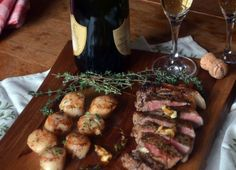 Simple Surf & Turf for Your Sweetheart