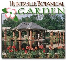 Botanical Gardens in Huntsville Alabama...one of my favorite places to visit while staying with our friends in the area
