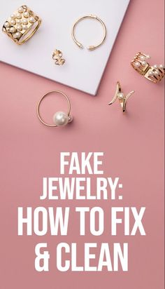 Learn how to fix fake jewelry in silver or gold tones that's discolored or tarnished to keep your earrings, bracelets and necklaces looking new! Green Rings, Blog Tips, Fashion Beauty, Make It Yourself, Silver, Fashion Trends, Jewelry, Jewlery, Jewerly