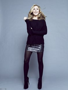 Sequin skirt and sweater.  If I could go our NYE this would be the outfit. :)                                                                                                                                                                                 More