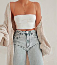 Really Cute Outfits, Cute Teen Outfits, Cute Comfy Outfits, Teenager Outfits, Teen Fashion Outfits, Mode Outfits, Simple Outfits, Outfits For Teens, Pretty Outfits
