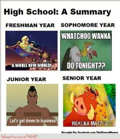 High School Disney Style lol :-)
