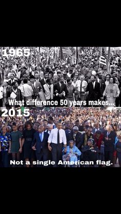 they are leading you blindly and using you as puppets to destroy america so they can rebuild our country into theirs. Do not be so blind. Yes there were inequalities that needed to be worked on still, but not like this. equality has been set back decades by Obama. he does not care about equality he is using you. he is distracting you.