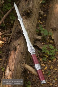 Lady Sif style Sword by Coregeek Purchase one here: https://www.etsy.com/shop/CoregeekCreations
