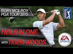 TIGER WOODS LUCKY HOLE IN ONE - Rory McIlroy PGA Tour 2015