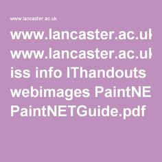 Paint Net Manual Pdf