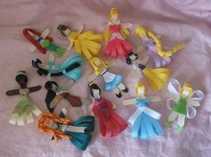 Set of ALL 13 Disney Inspired Princess Hair Accessories