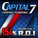 Invest on Capital7 and get a ROI of 154% monthly. THis one is for everybody which want to create a passive income and a work from home oppurtunity