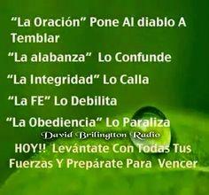 "La ""Oracion"" pone al diablo a Temblar.... ~ Radio Palomo"