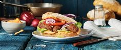 Cevapcici Burger mit THOMY Chili Mayo