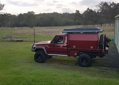 Lets hope rain holds out 🤞 📷: Land Cruiser 70 Series, Superior Engineering, Single Cab Trucks, Sick Puppies, Camping Set Up, Drift Trike, Car Mods, Camper Conversion, Toyota Hilux