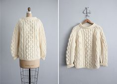 Chunky sweater for winter