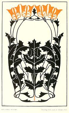 Illustration from Deutsche Kunst und Dekoration, German periodical of art and decoration, 1899.
