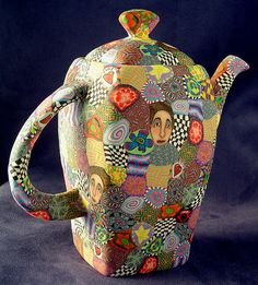 funky collage teapot3 by Wanda's Designs, via Flickr