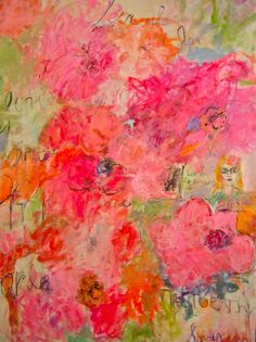 Waiting for the Peonies!    Artist, Sandy Welch 2